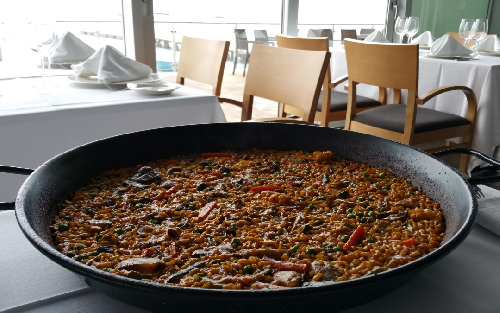 Arroz huertano